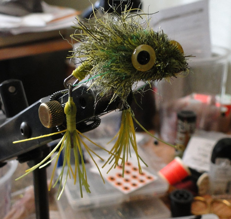 Skelton Frog - Fly Tyers Dungeon - Unique Fly Tying Materials
